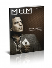 Magazine M.U.M. - Richard Kaufman (USA)
